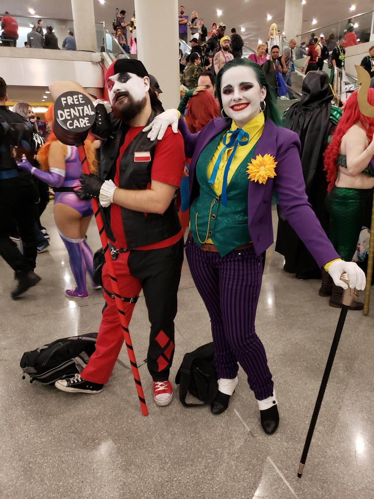 Креативные косплеи с Comic Con-2019 в Нью-Йорке