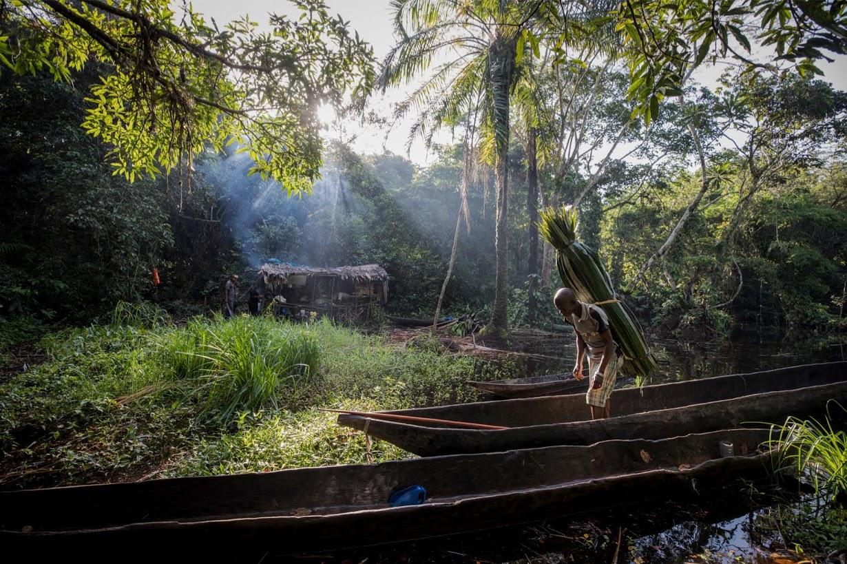 Охота за дикими животными в Конго