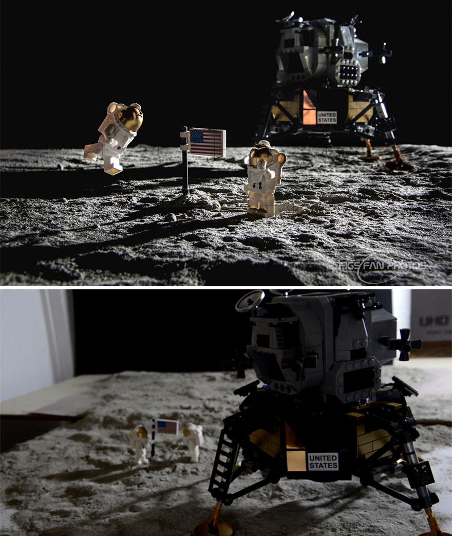 Парень делает снимки космических событий с помощью Lego
