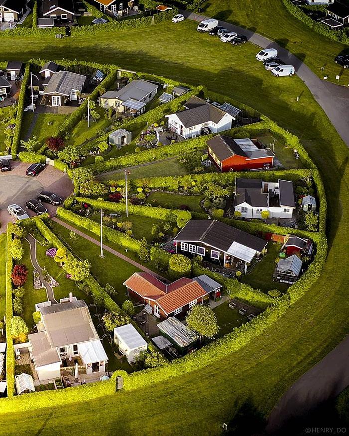 Уникальный город садов в Дании