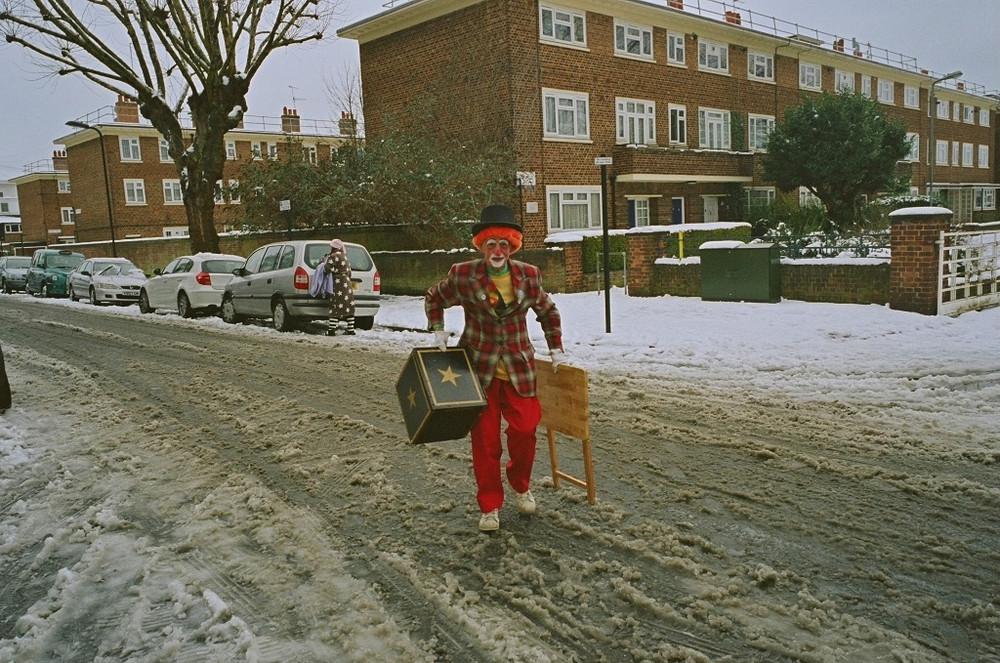 Необычайные уличные фотографии от Стивена Лесли