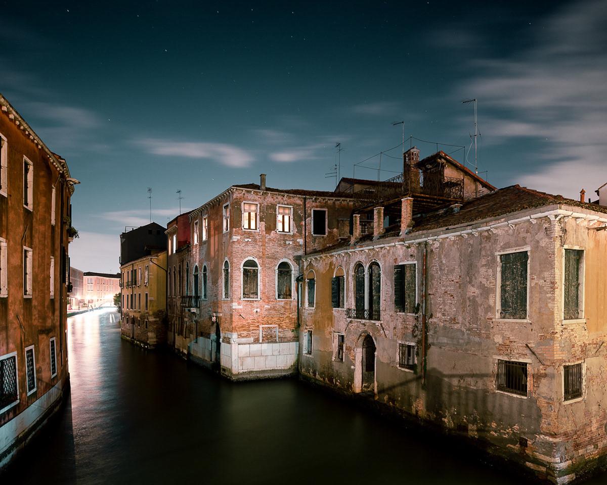 Ночная Венеция на снимках