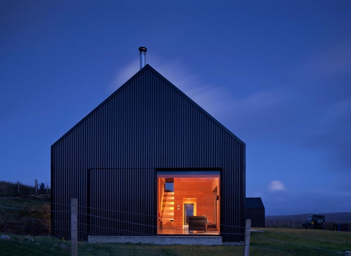 Простой частный дом в Шотландии
