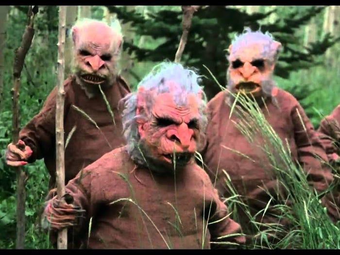 Семерка худших фильмов ужасов всех времен