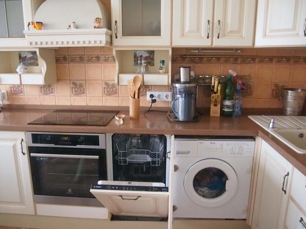 Стиральная машина на кухне: быть или не быть?