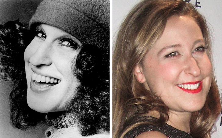 Знаменитые женщины и их дочки в одном возрасте