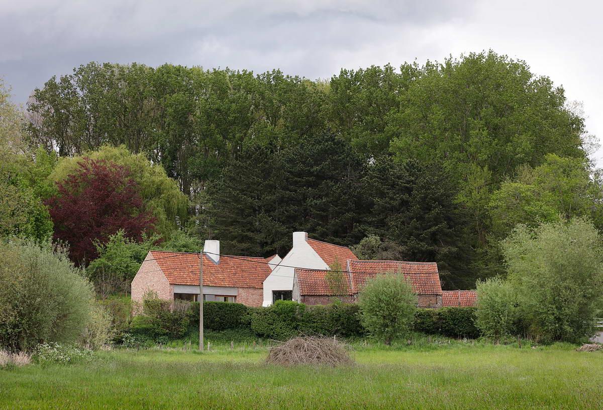 Деревенская усадьба в Бельгии