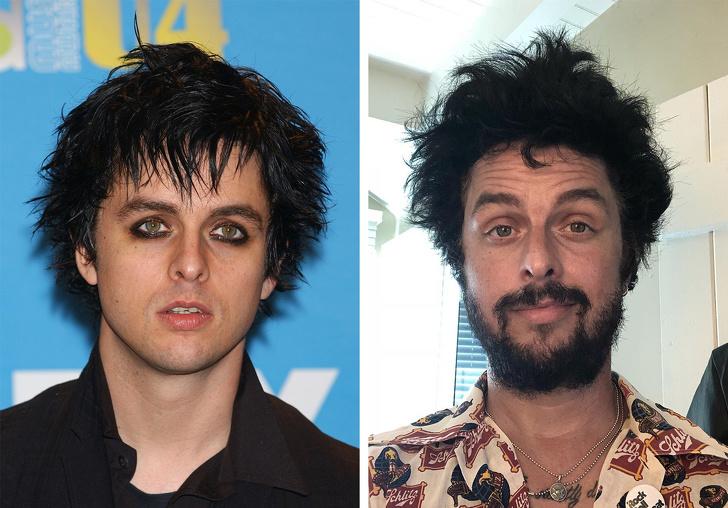 Как изменились популярные рок-звезды 2000-х