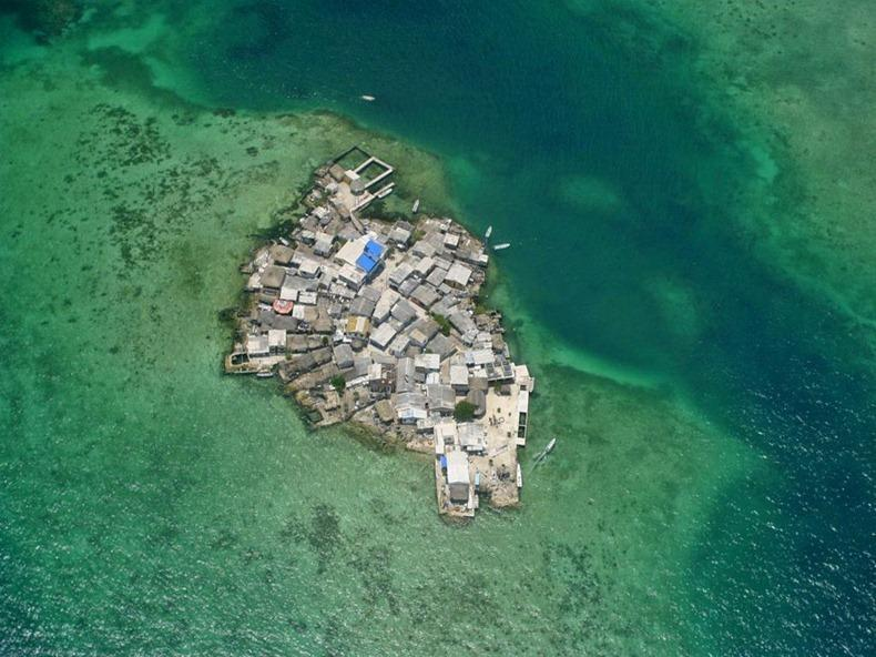 Острова мира с самой высокой плотностью населения