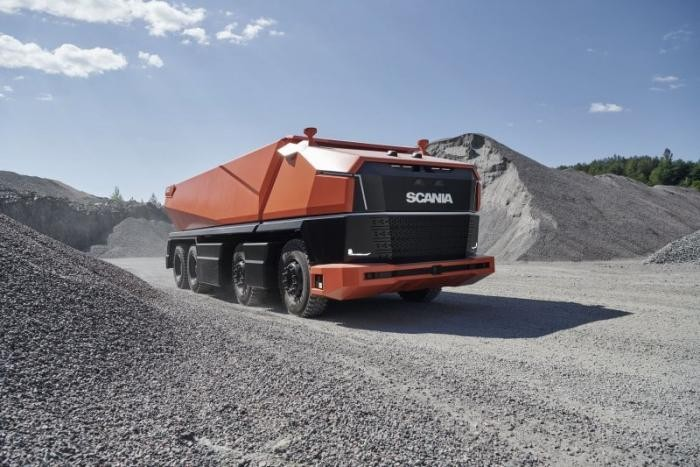Концептуальный грузовик Scania AXL, у которого даже нет кабины