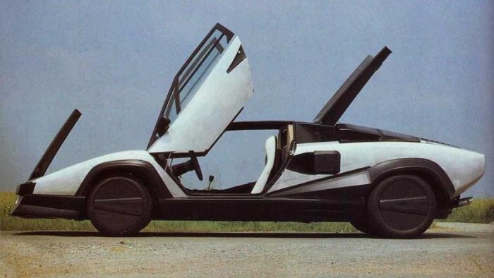 Прототип Lamborghini Countach Evoluzione, которого никто не видел