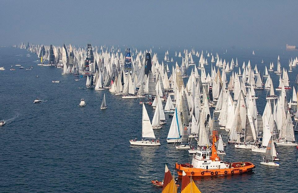 Regatta Barcolana - a legnagyobb vitorlás verseny a világon