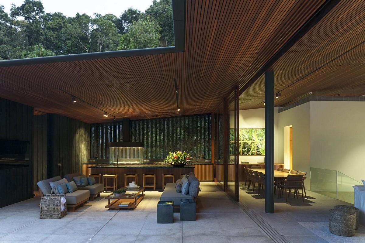 Резиденция на побережье Сан-Паулу