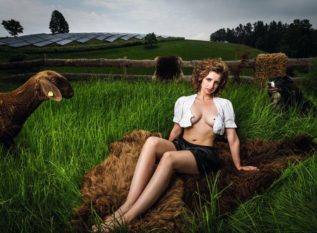 Молодые фермеры и фермерши в календаре Jungbauernkalender 2020