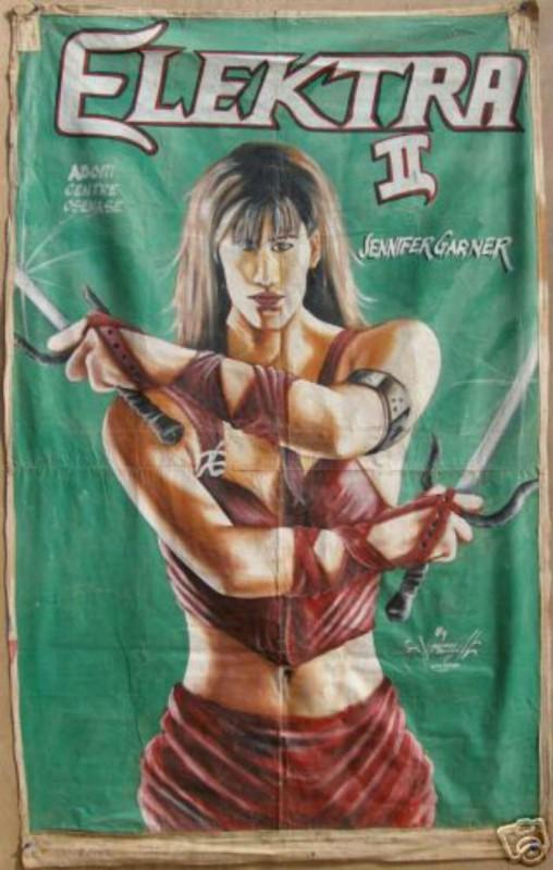 Африканские шедевры плакатов популярных голливудских фильмов