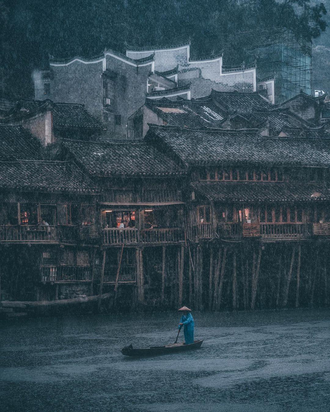 Замечательные городские пейзажи от Чэнь Юй Чэня