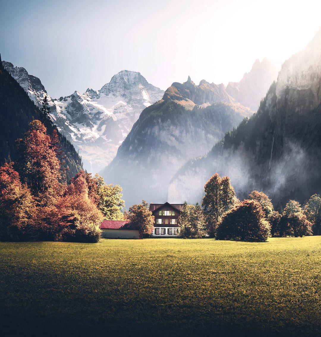Удивительные пейзажные снимки от Мэтта Оуэн-Хьюза