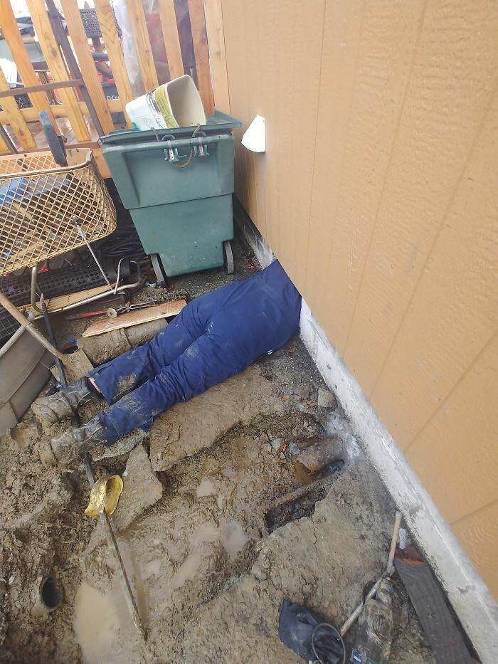 Забавные ситуации на работе от сантехника из Сиэтла