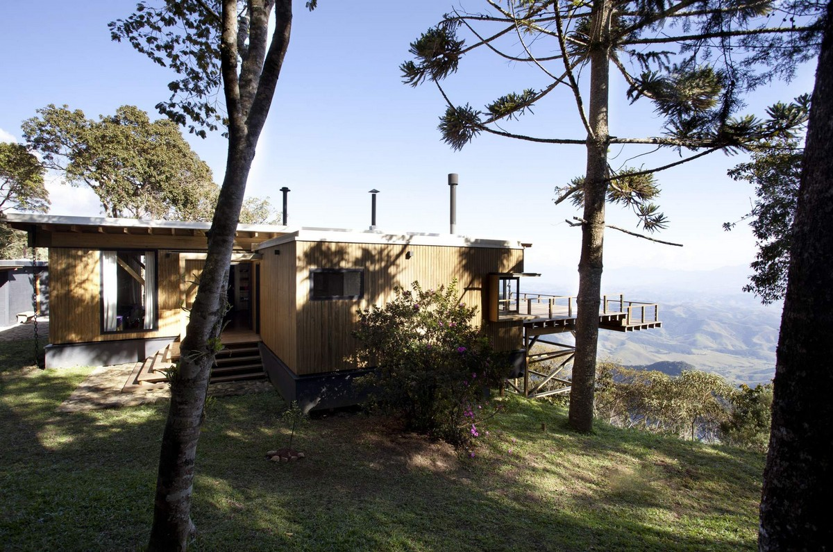 Дом с видом на Национальный парк в Бразилии