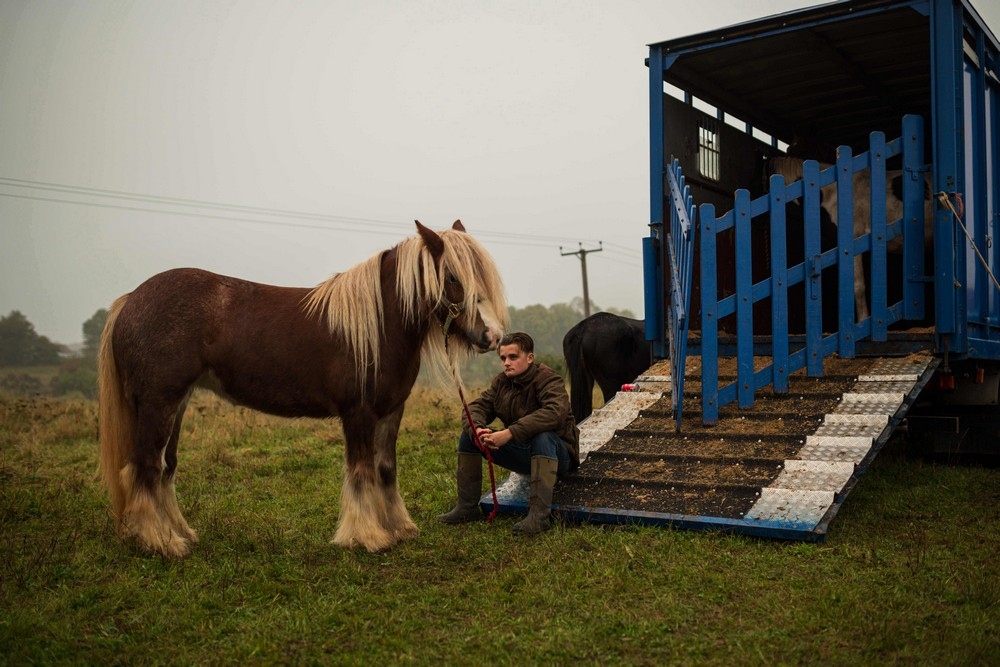 Цыгане собрались на 500-летнюю конную ярмарку Stow Horse