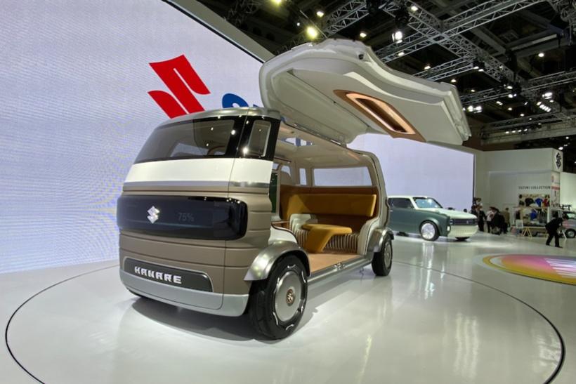 Транспорт будущего на автосалоне Tokyo Motor Show 2019