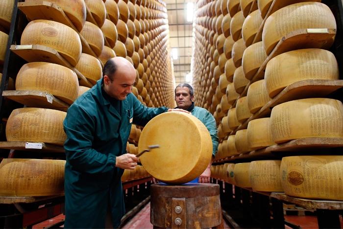 Olasz bank, amelyben a sajt hitelvaluta lett