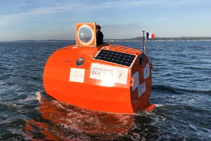 Как 72-летний француз пересёк Атлантический океан в бочке