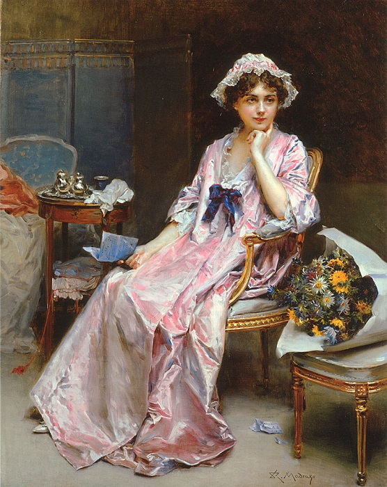 Какой была домашняя одежда в XIX веке