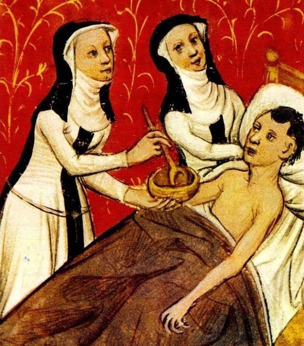 Некоторые мужские профессии в прошлые времена были чисто женскими