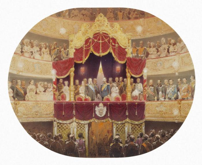 Правила этикета для посещения театра в XIX веке