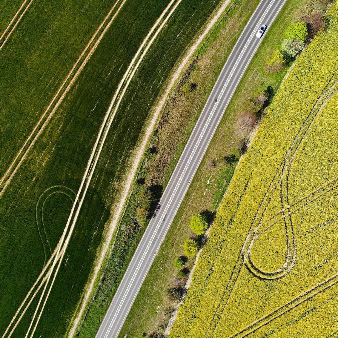 Великобритания на снимках с высоты от Владимира Повшенко