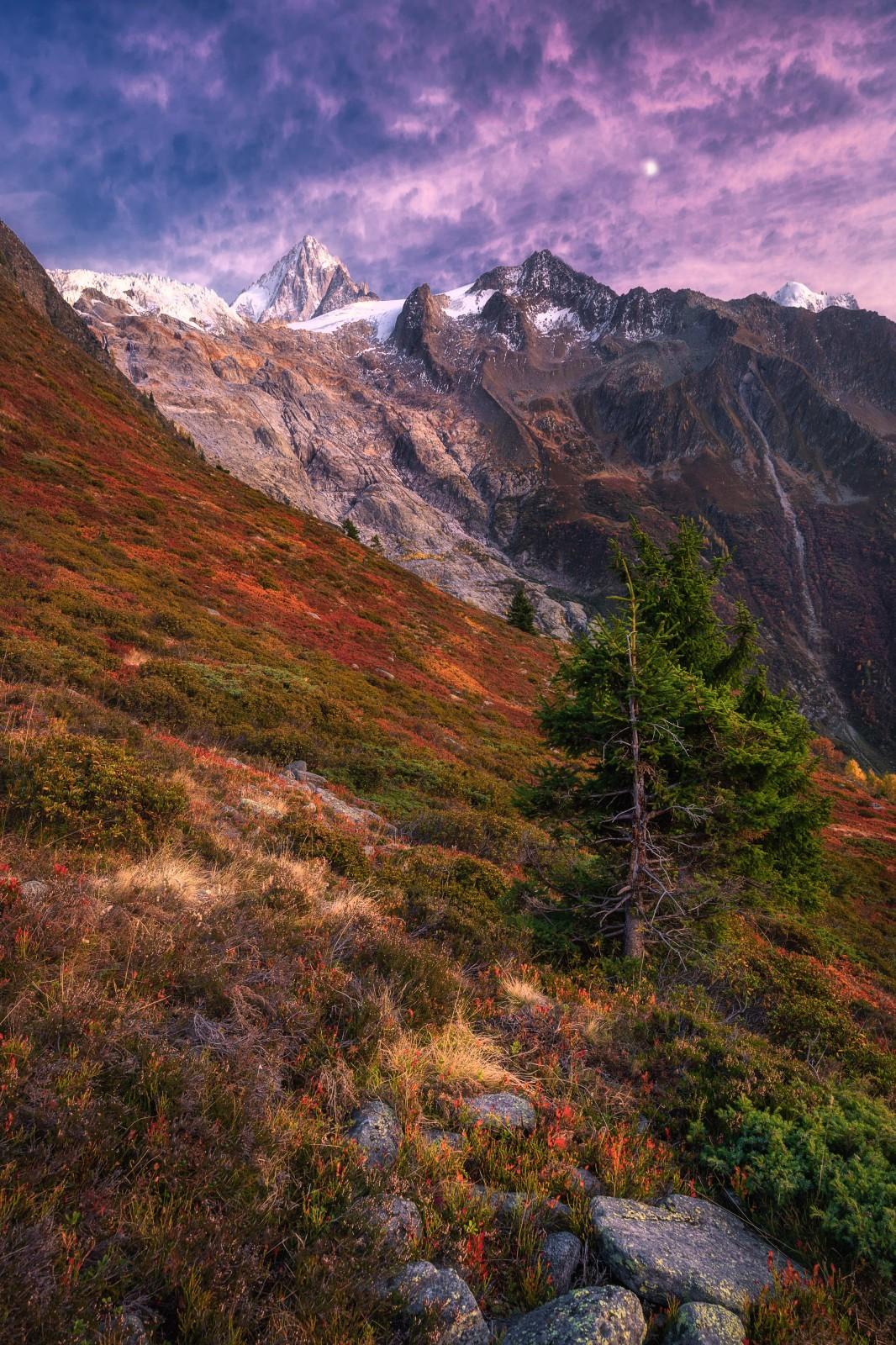Красота Французских Альп на снимках Мартина Моргенвека