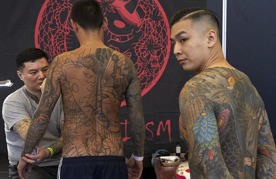 Международная конвенция татуировки в Амстердаме