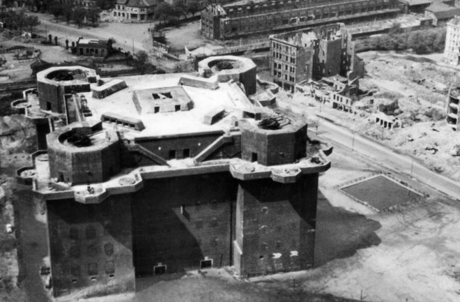Из бункера в Гамбурге собираются сделать отель