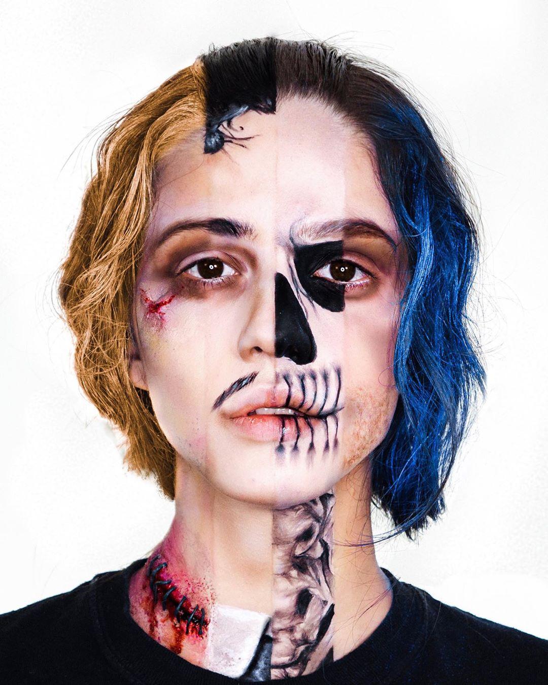 Потрясающий макияж от двух сестер из Великобритании