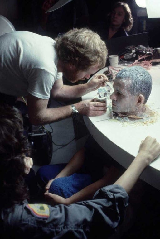 Снимки со съемочных площадок фильмов ужасов