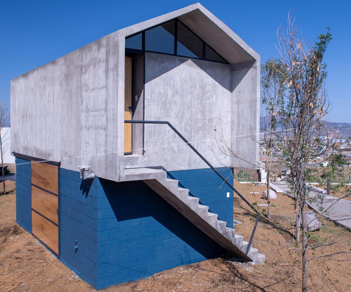 Социальный дом для сельской местности в Мексике
