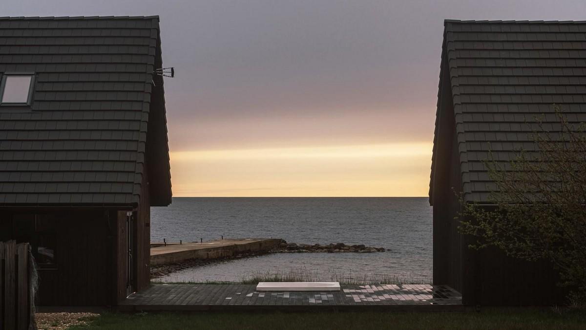 Дом для летнего отдыха на пляже в Эстонии