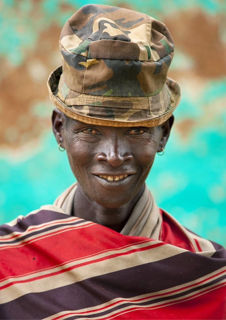 Стильное племя в Эфиопии