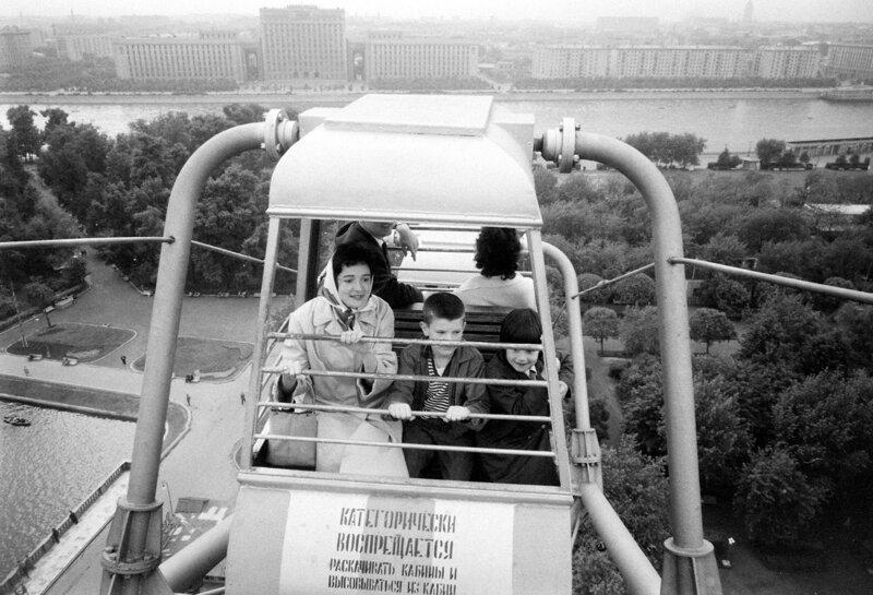 Советские времена на атмосферных архивных снимках