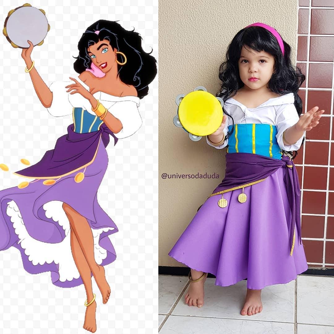 Крутой и стильный косплей от маленькой девочки