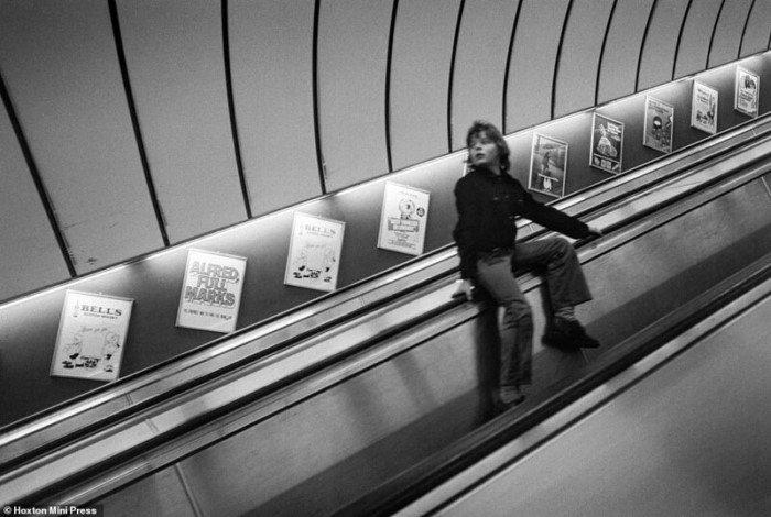 Романтика лондонской подземки в 1970-х годах