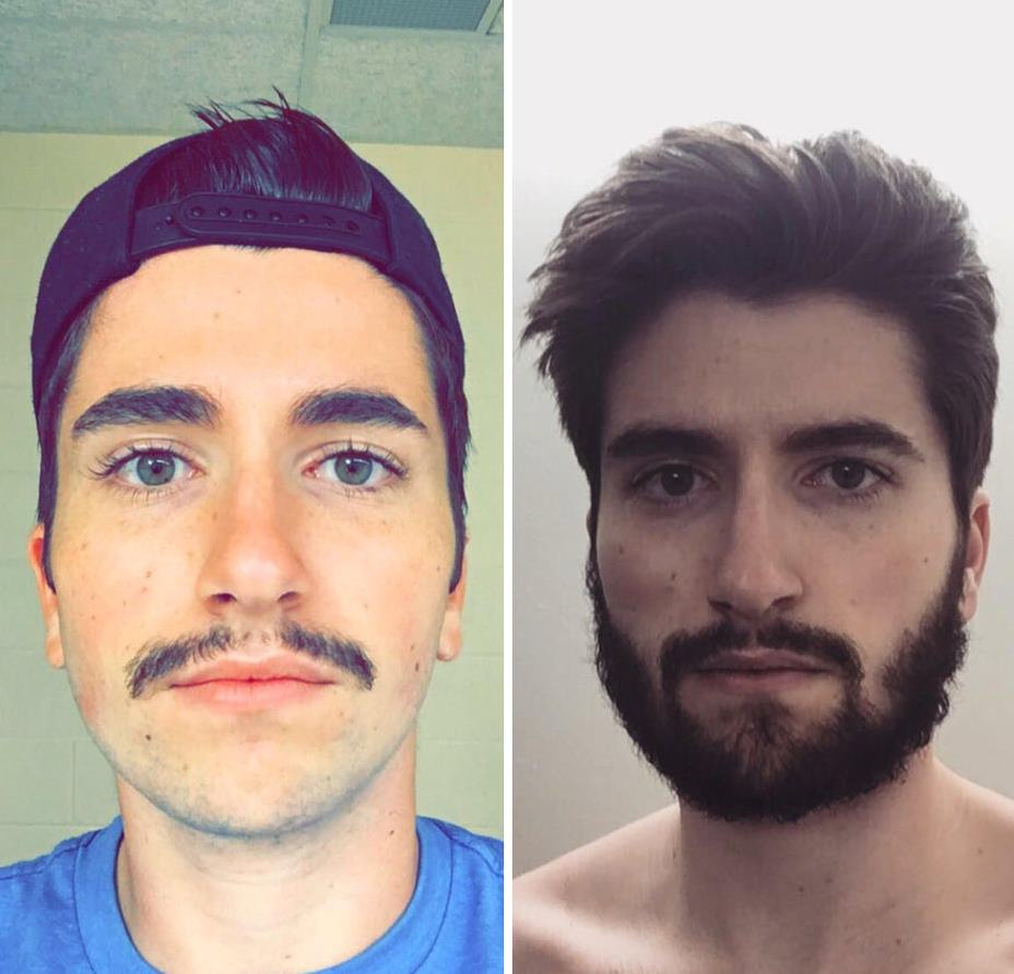 Мужчины с бородой и те, кто её сбрил