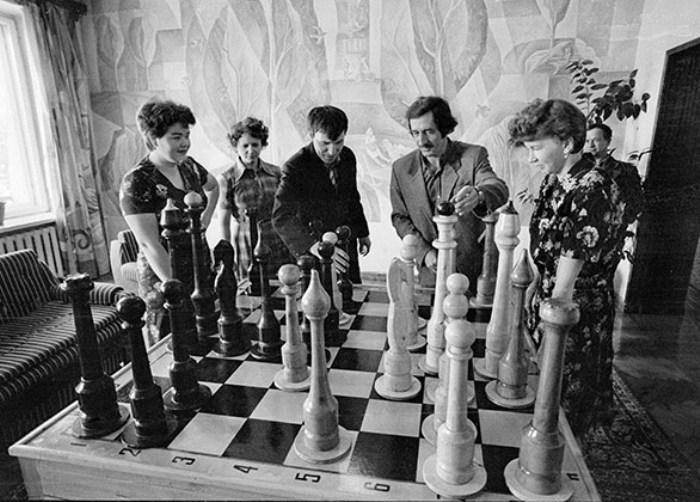 Шахматы как феномен советской действительности