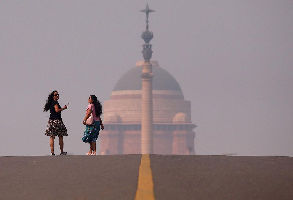 Великий смог окутал Нью-дели