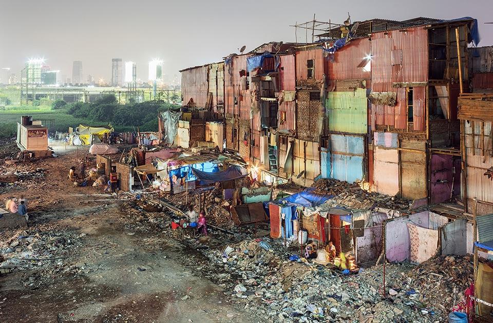 Блеск и нищета Мумбая от фотографа Мацея Лещинского