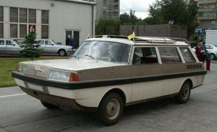 Самодельная амфибия Ихтиандр из СССР