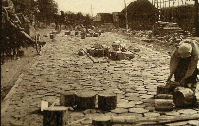 Какими были деревянные мостовые из прошлого