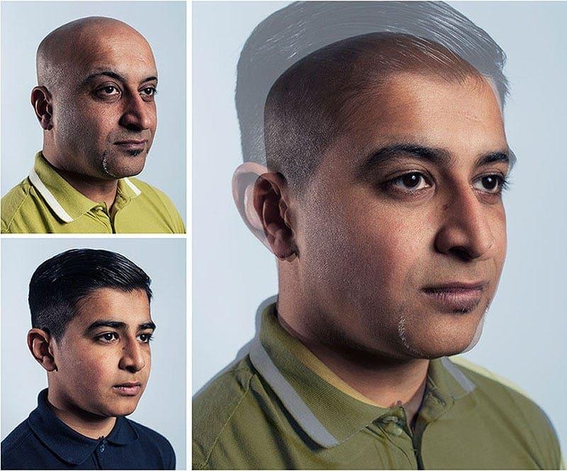 Мальчики и их отцы в проекте фотографа из Великобритании
