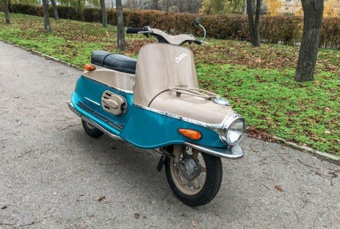 Cezeta 502 - самый желанный мотороллер в СССР